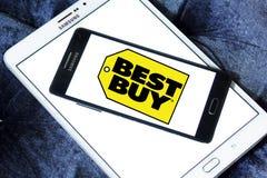 Best buy store logo Stock Image