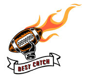 Best Catch Badge Hand Draw Royalty Free Stock Images