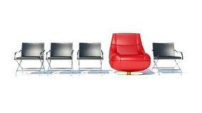 Best chair. Isolated in white background Royalty Free Stock Photo