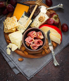 Best cheese platter. Royalty Free Stock Photo
