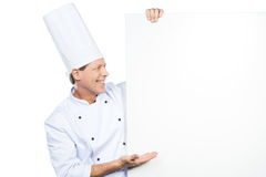 The best from chef. Royalty Free Stock Image