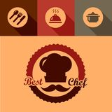 Best chef labels Stock Photos