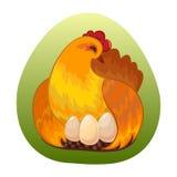 Best chicken egg design Stock Images