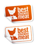Best Chicken Meat Stickers Royalty Free Stock Photos