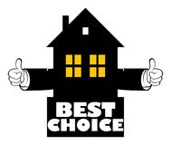 Best choice. Real estate best choice  illustration Stock Photo
