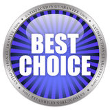 Best choice. Icon isolated on white background Stock Image
