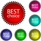 Best choice Royalty Free Stock Image