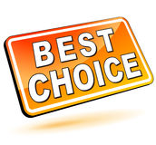 Best choice 3d Royalty Free Stock Images