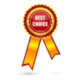 Best choice award Royalty Free Stock Image
