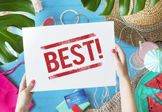 Best Choice Award Finest Winning Fullfillment Concept. Best Choice Award Finest Winning Fullfillment Credit Card Royalty Free Stock Photography