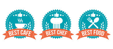 Best Choice Badge Food Element Set Royalty Free Stock Images