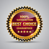 Best Choice Badge Royalty Free Stock Image