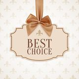 Best choice, banner. Royalty Free Stock Photography