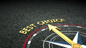 Best choice concept stock video footage