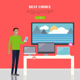 Best Choice Concept Stock Photo