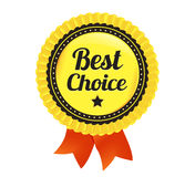 Best Choice Ecommerce Badge. Modern Vector Best Choice eCommerce badge Royalty Free Stock Images