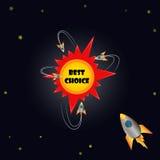Best choice emblem Royalty Free Stock Photos