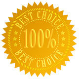 Best choice guarantee Stock Images