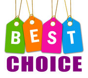 Best choice icon stock illustration
