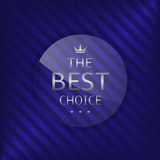 Best choice label Stock Images