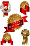 Best Choice Label Set Royalty Free Stock Photography