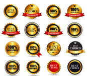 Best Choice Label Set Vector Illustration Royalty Free Stock Images