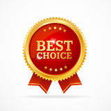 Best Choice Label. Vector Royalty Free Stock Images