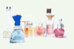 Best choice of perfume. Stock Photos