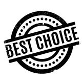 Best Choice rubber stamp. Grunge design with dust scratches. Effects can be easily removed for a clean, crisp look. Color is easily changed royalty free illustration