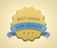 Best choice seal Stock Images