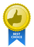 Best Choice Sign Royalty Free Stock Photos