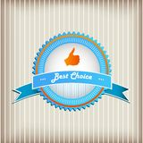 Best Choice Sign Stock Image