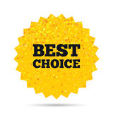 Best choice sign icon. Special offer symbol. Stock Photos