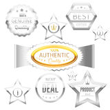 Best choice sign tags badges collection Stock Images