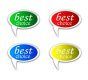 Best Choice Tag Stock Photo