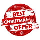 Best Christmas Offer Stock Photography