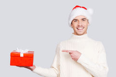 The best Christmas present. Stock Photography