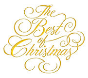 Best of Christmas Script Stock Photos