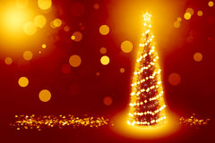 Best christmas tree background. Best background with christmas tree and golden coins around it Royalty Free Stock Images