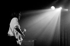 Best Coast (band from Los Angeles), performs at Discotheque Razzmatazz Stock Images