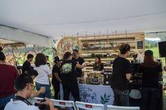 Best Coffee & Tea at Singh Park Chian Rai, Thailand Stock Photo