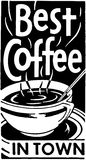 Best Coffee In Town 2 Royalty Free Stock Photos
