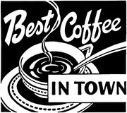 Best Coffee In Town Stock Photography