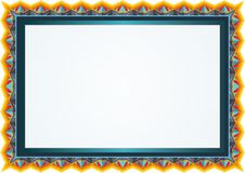 Best colorful Diploma background - template Stock Photo