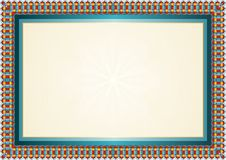 Best colorful Diploma background - template Royalty Free Stock Photography