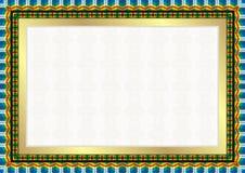 Best Colorfull Diploma Frame Stock Image