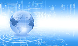 Best concept of global business Stock Image