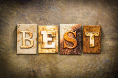 Best Concept Letterpress Leather Theme Royalty Free Stock Images