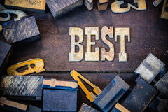 Best Concept Rusty Type Royalty Free Stock Images