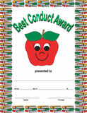 Best Conduct Award Royalty Free Stock Photography